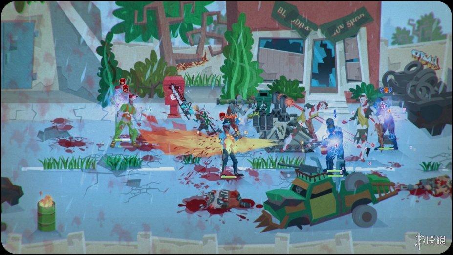 《感染避难所》游戏截图(1)