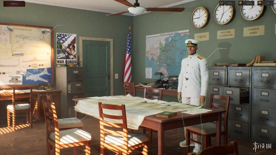 《戰略思維:太平洋》游戲截圖