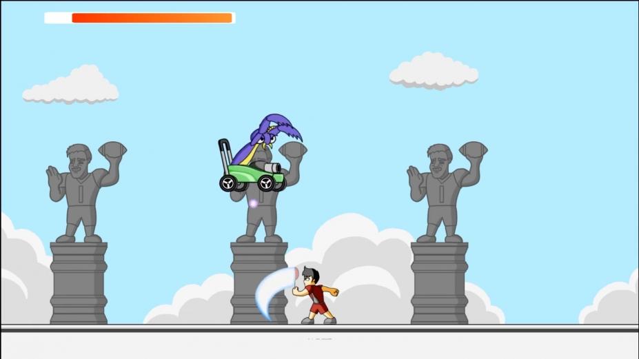 《羽毛球勇士》游戏截图