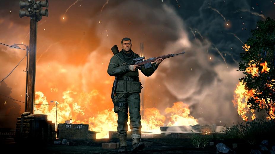 《狙击精英V2重制版》游戏截图-2(1)