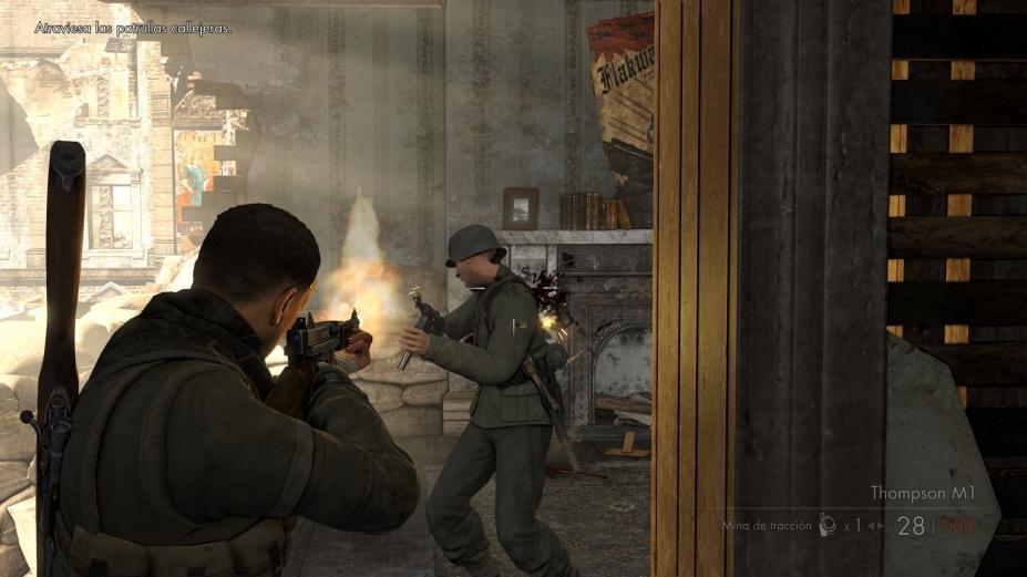 《狙击精英V2重制版》游戏截图-3(1)