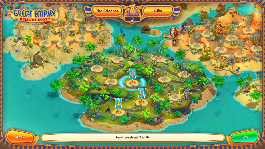 《伟大帝国:埃及遗迹》游戏截图