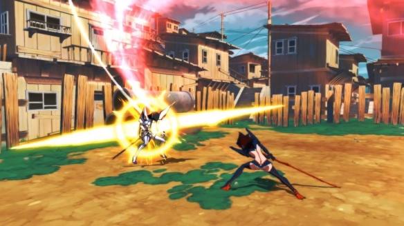 《斩服少女:异布》游戏截图-2