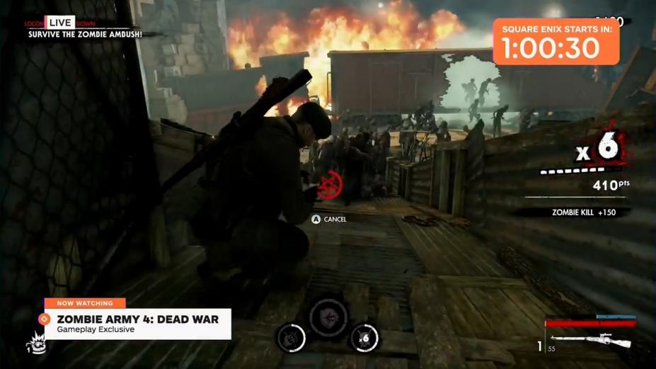 《僵尸部队4死亡战争》beplay体育登陆不了截图