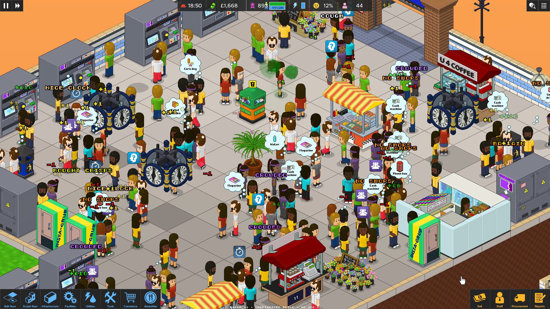 通勤:地铁站/Overcrowd: A Commute Em Up插图2