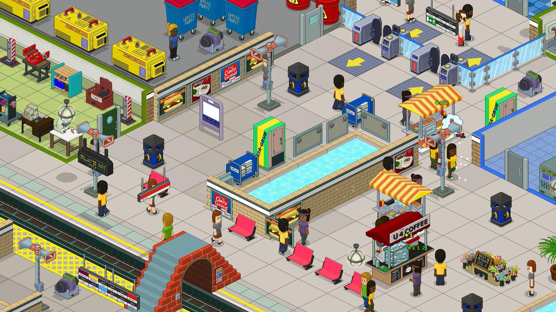 通勤:地铁站/Overcrowd: A Commute Em Up