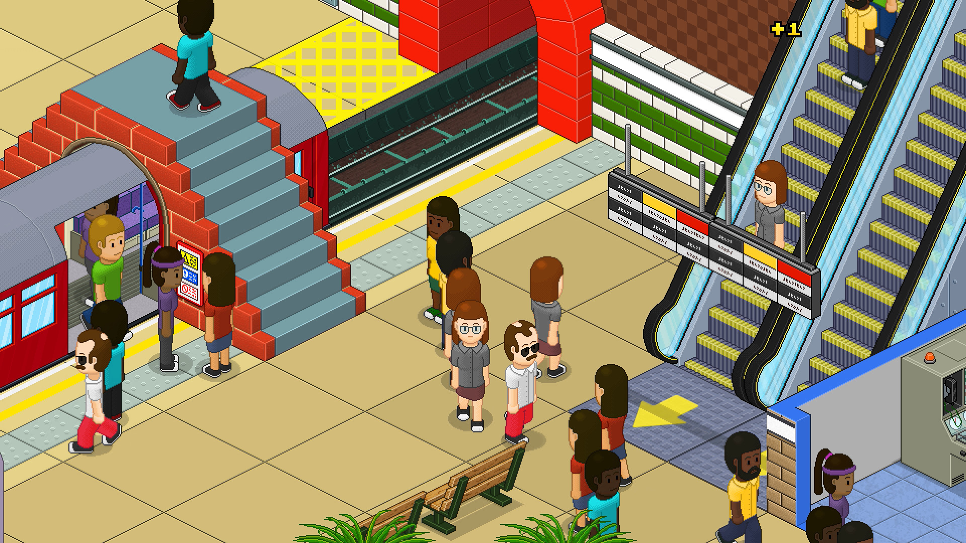 通勤:地铁站/Overcrowd: A Commute Em Up插图4