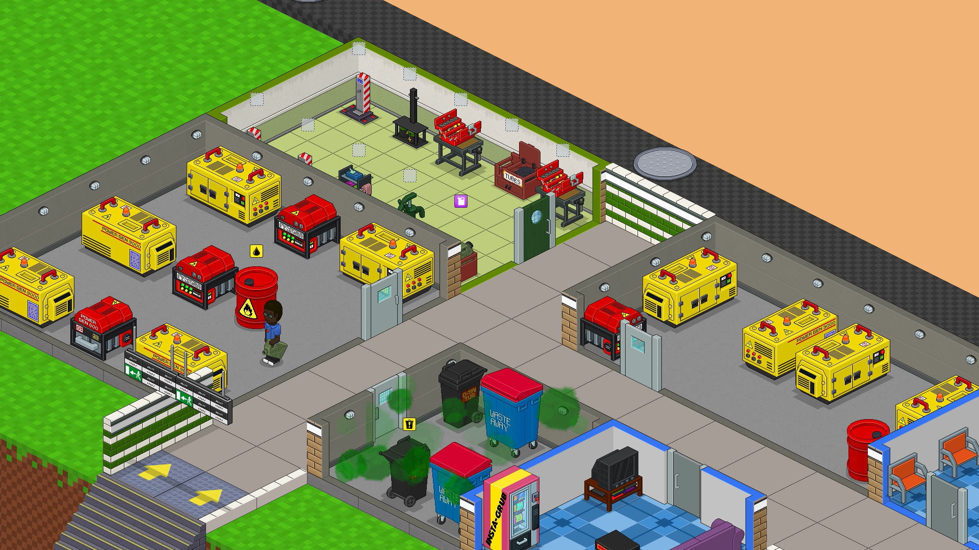 通勤:地铁站/Overcrowd: A Commute Em Up插图6