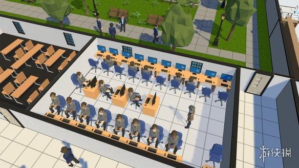 《学校模拟器》游戏截图