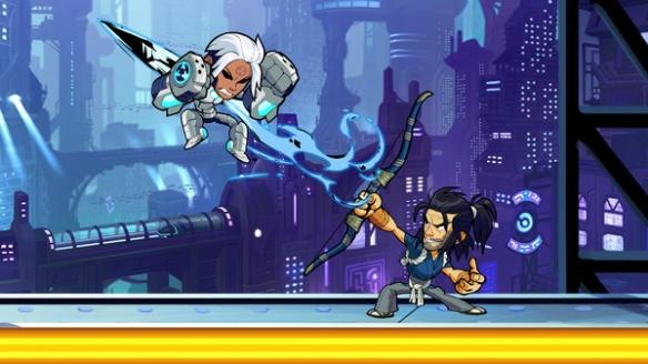 《格斗挑战》游戏截图