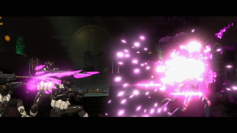 《超凡戰隊能量之戰》游戲截圖