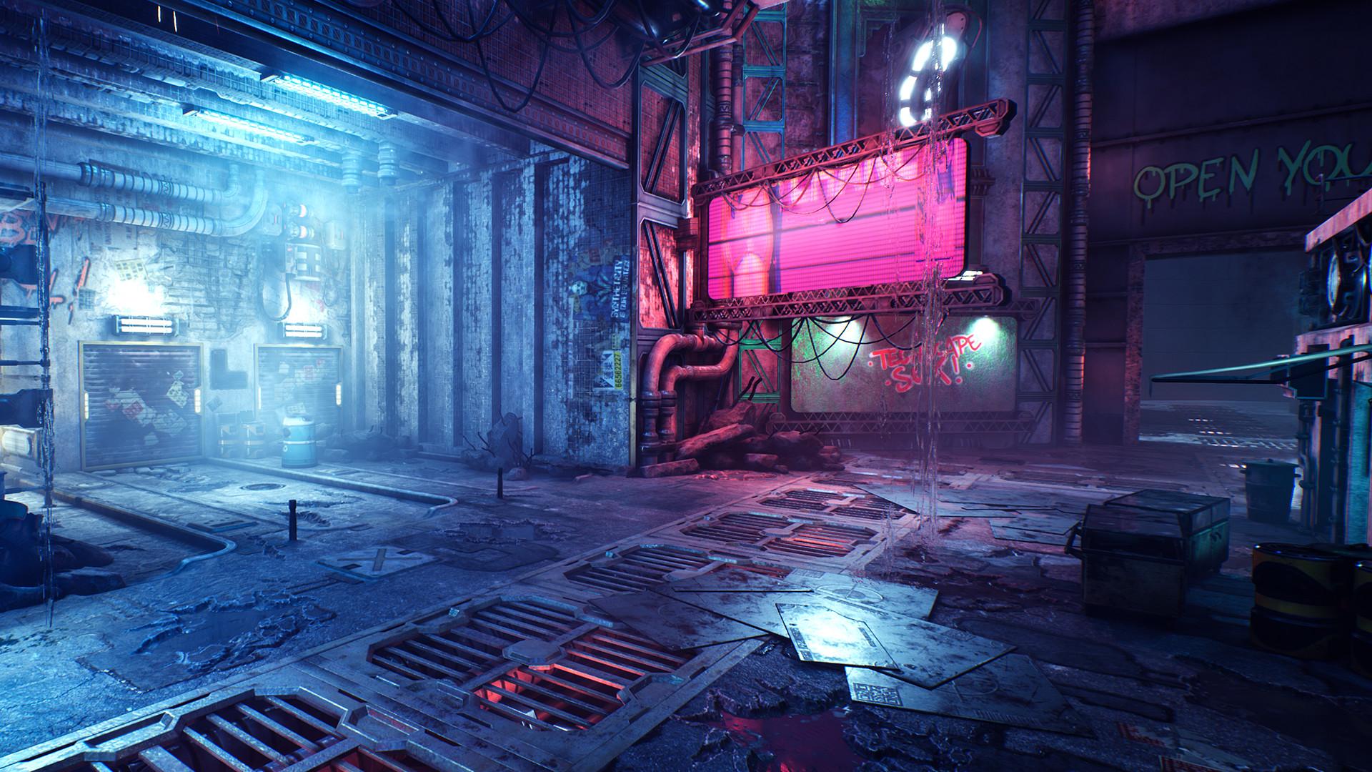 幽灵行者/Ghostrunner(更新硬核模式)插图6
