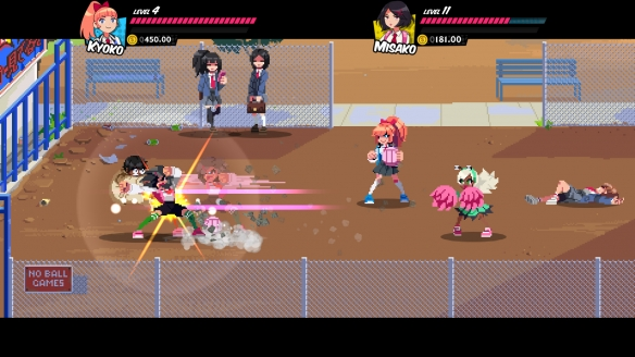 《热血硬派外传热血少女》游戏截图-3