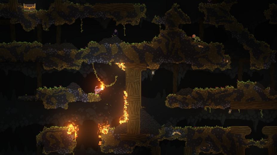 《女巫Noita》游戲截圖