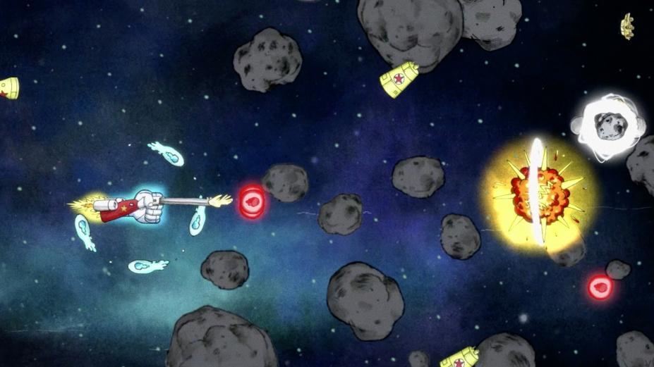 《自由的中指》游戲截圖