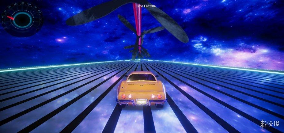 《太空賽車XXL》游戲截圖