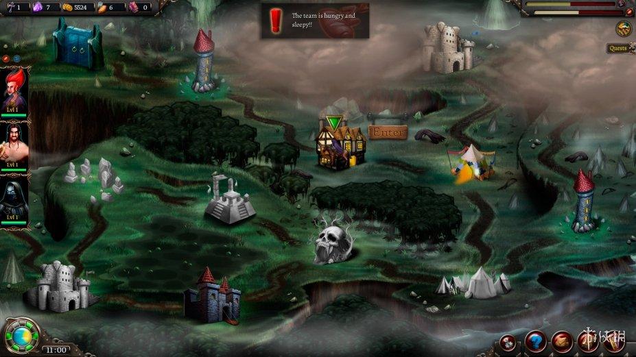 《塔斯卡瑞亞最后的日子》游戲截圖