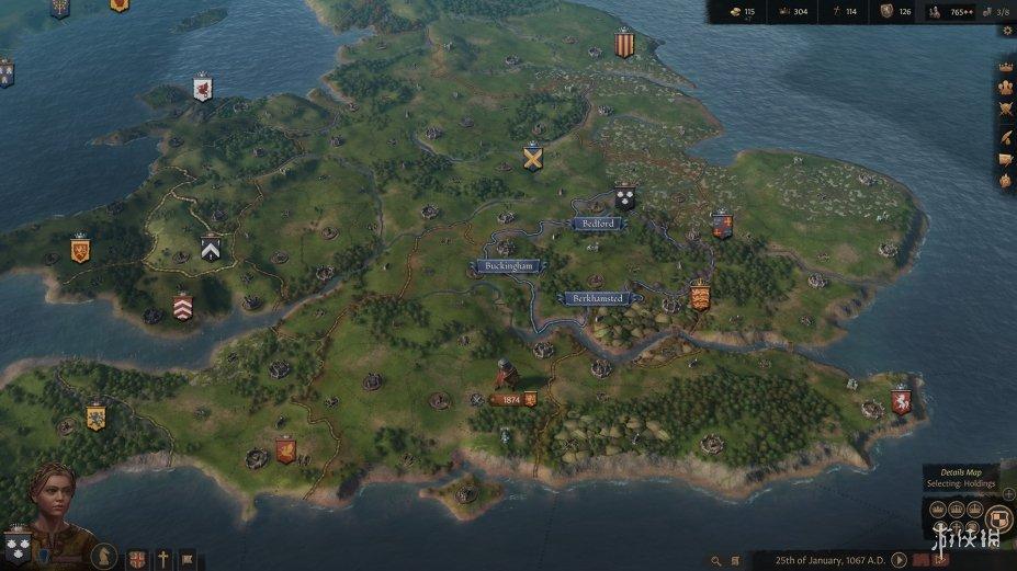 《王国风云3》游戏截图