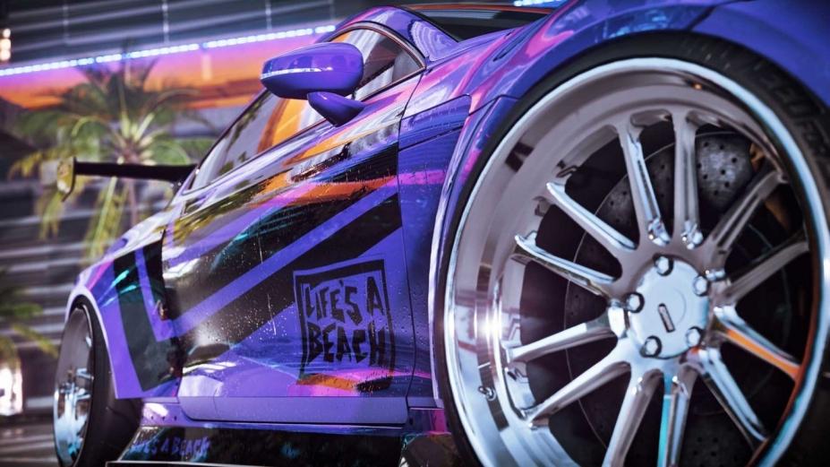 《极品飞车21:热度》游戏截图
