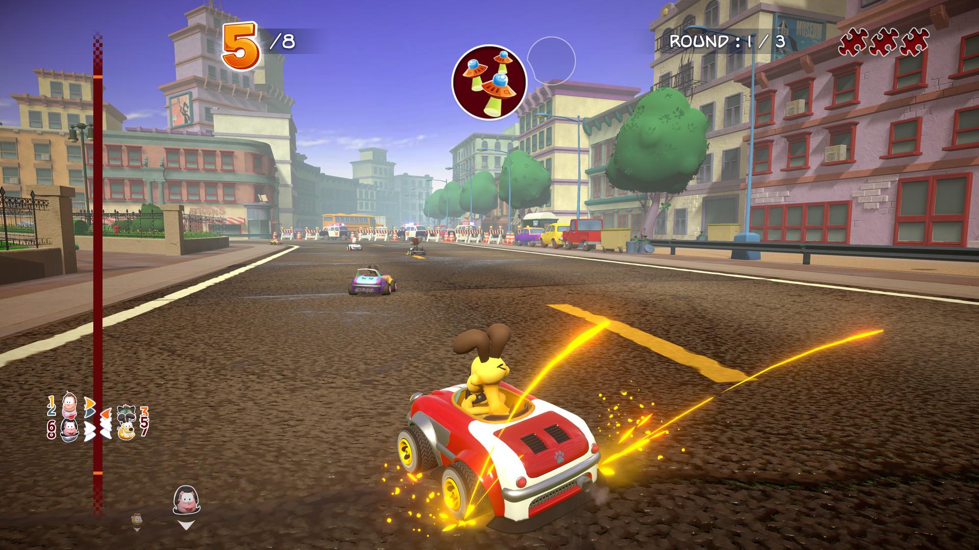 加菲猫卡丁车:激情竞速/Garfield Kart – Furious Racing