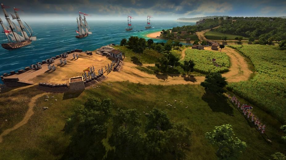 《終極提督:航海時代》游戲截圖