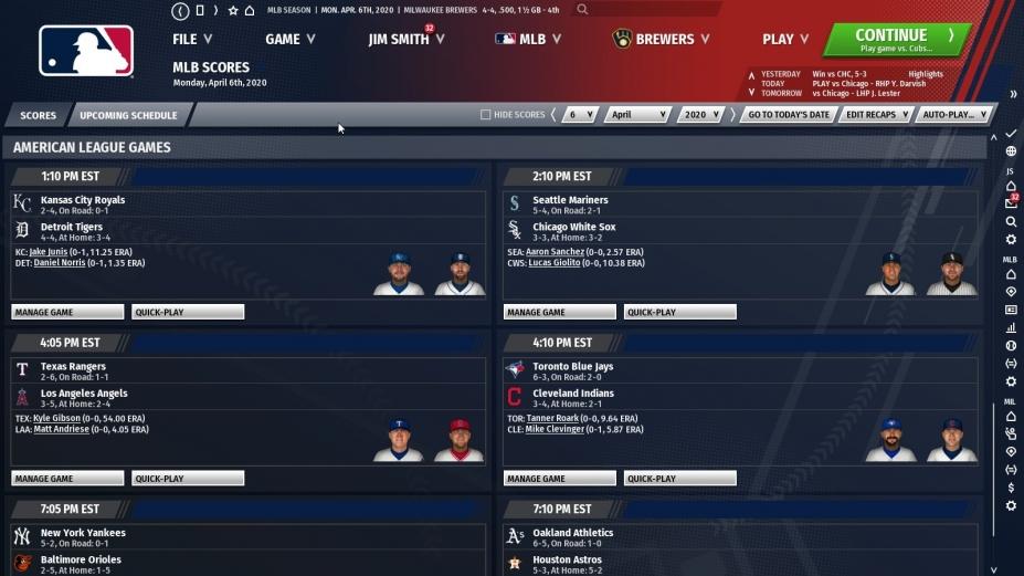 《勁爆美國棒球21》游戲截圖