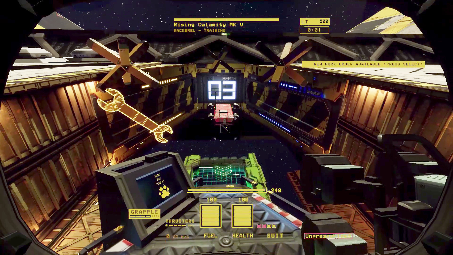 迷走深空:碎舰师/Hardspace: Shipbreaker插图15