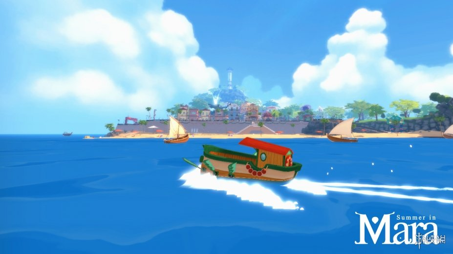 《瑪拉的夏天》游戲截圖