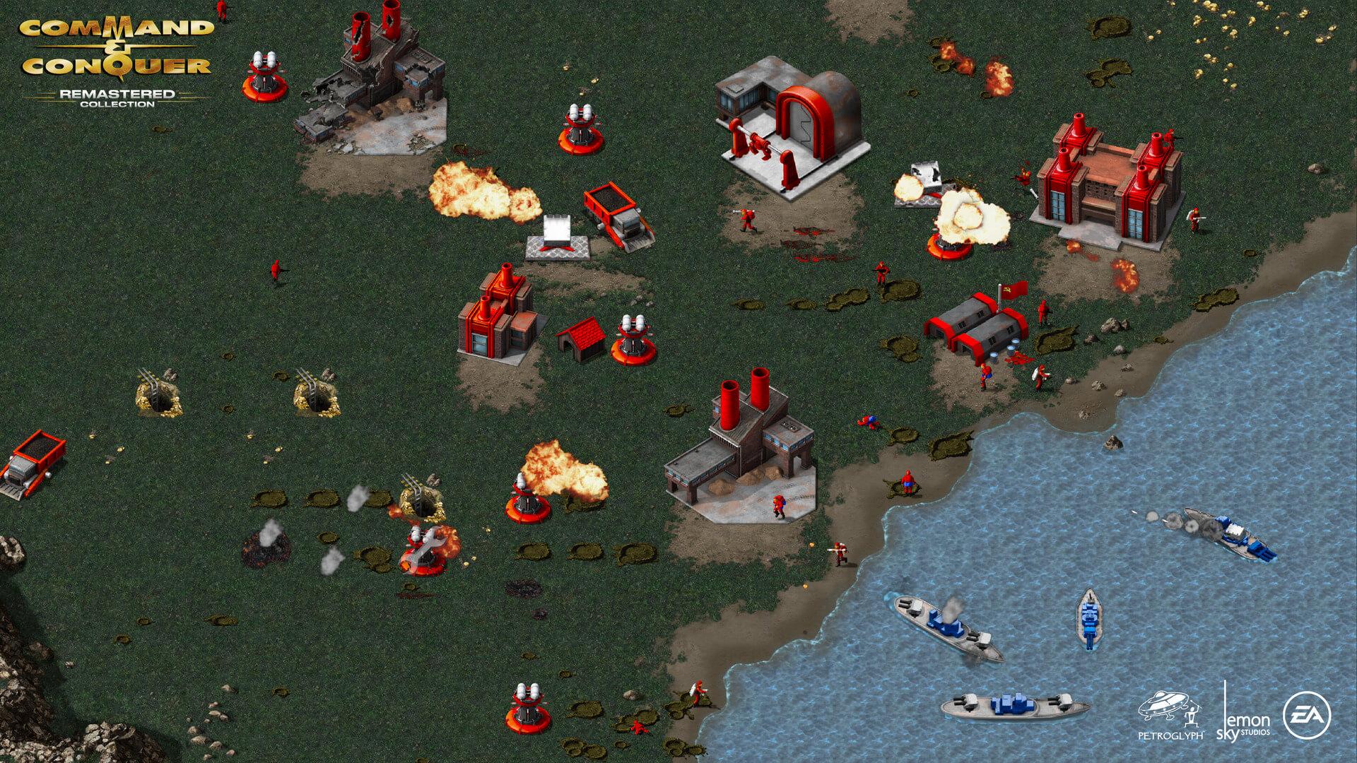 红色警戒/命令与征服:重制版/Command and Conquer:Remastered插图5
