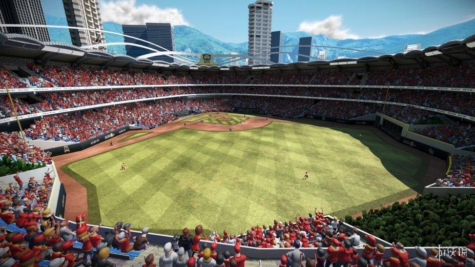 《超級棒球3》游戲截圖