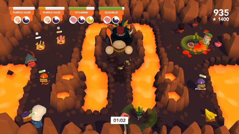 《食人島料理戰》游戲截圖