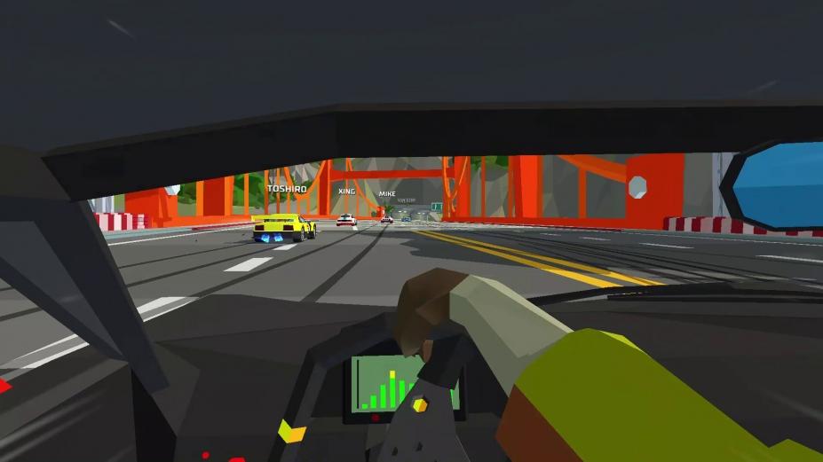 《Hotshot Racing》游戏截图