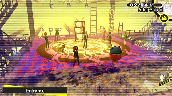 《女神異聞錄4:黃金版》游戲截圖