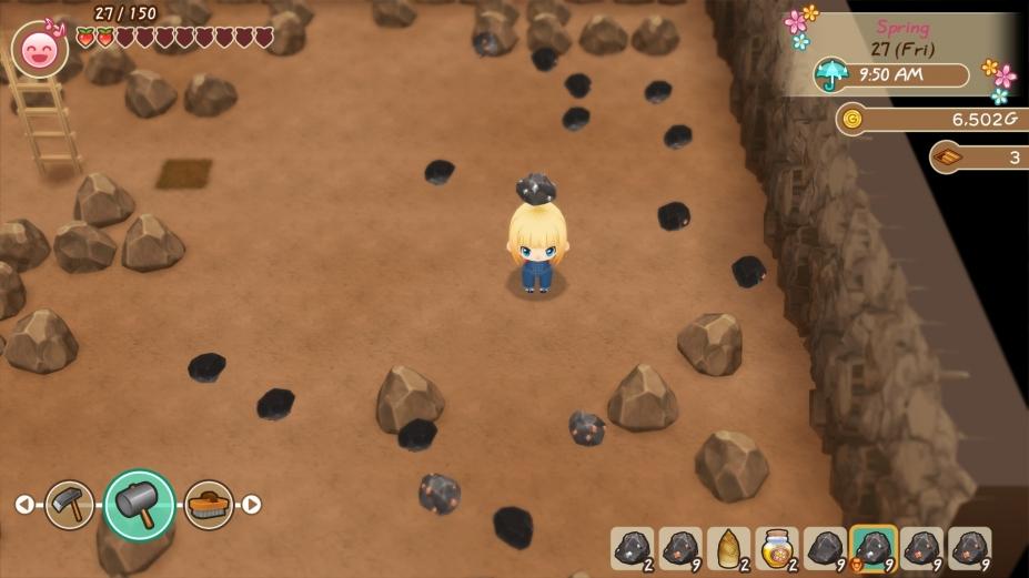 《牧場物語再會礦石鎮》游戲截圖2