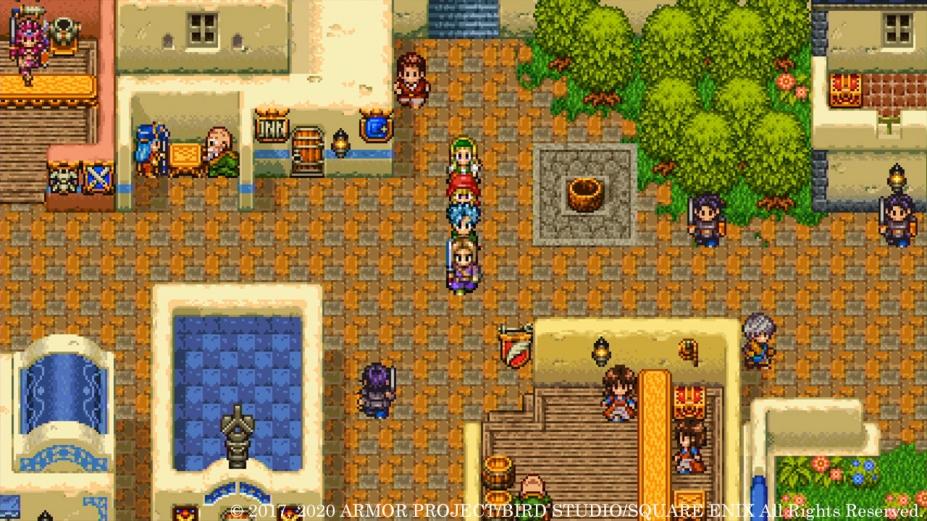 《勇者斗恶龙11S:寻觅逝去的时光》游戏截图