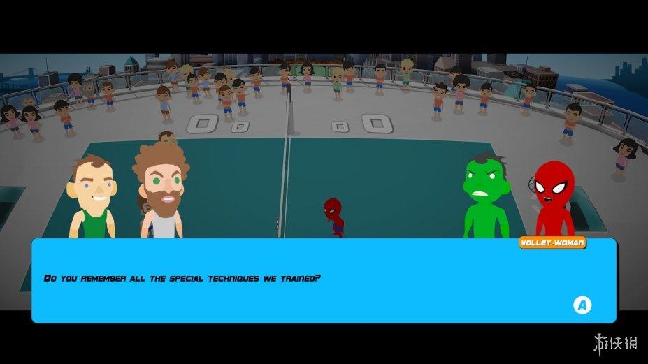 《超级爆裂运动》游戏截图
