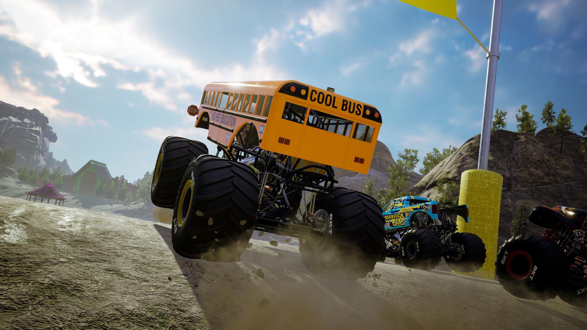 怪物卡车钢铁巨人2/怪物卡车钢铁泰坦2/怪兽卡车2/单机.同屏多人