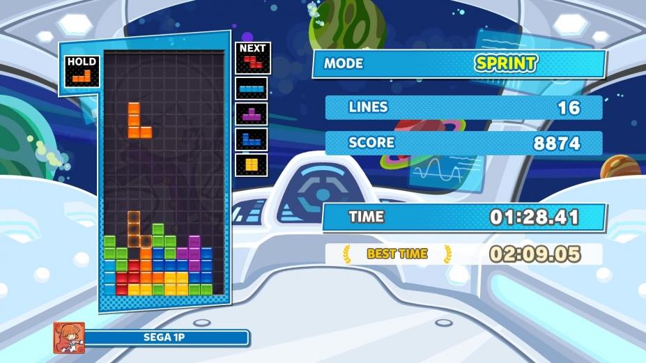 《噗哟噗哟俄罗斯方块2》游戏截图2
