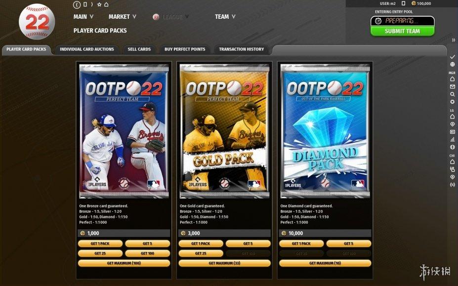 《劲爆美国棒球22》游戏截图