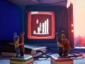 《双人优游平台行》游戏截图-1小图