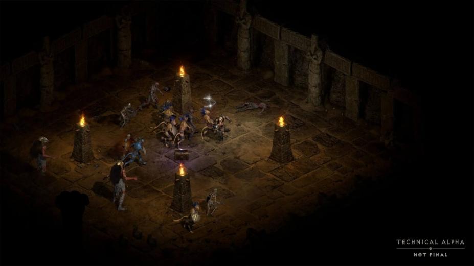 《暗黑破坏神2重制版》游戏截图
