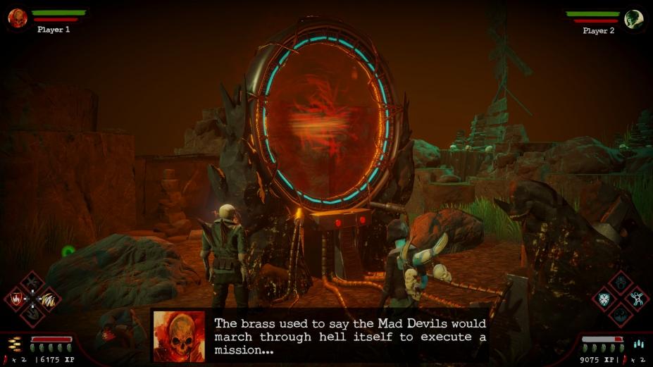 《疯狂恶魔》游戏截图