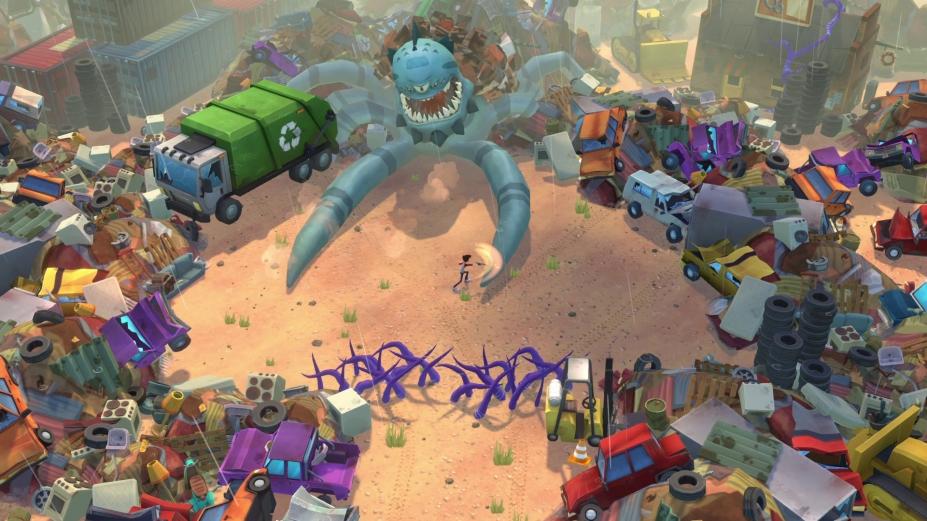 《地球上最后的孩子与毁灭之杖》游戏截图