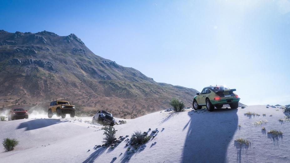《极限竞速:地平线5》游戏截图