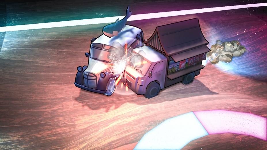《餐车竞技场》游戏截图