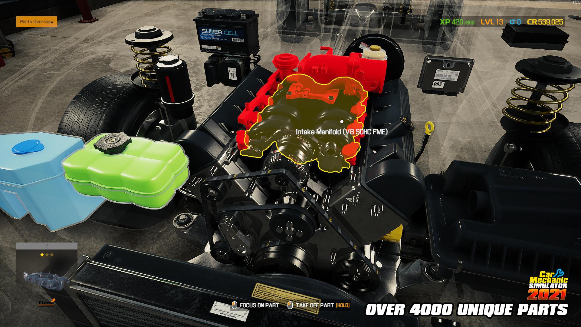 汽车修理工模拟2021/Car Mechanic Simulator 2021