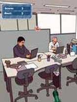 《办公室油漆射击》