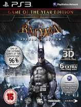 《蝙蝠侠之阿卡姆疯人院年度版》美版