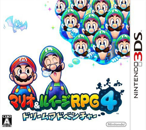 《马里奥与路易RPG4:梦世界冒险》日版