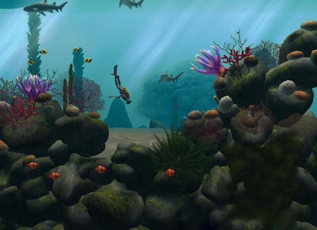 壁纸 动物 海底 海底世界 海洋馆 水族馆 鱼 鱼类 640_464